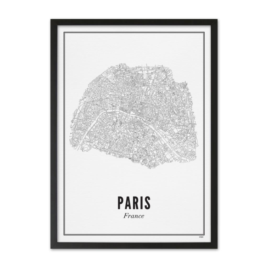 Wijck Poster Paris City 50x70cm