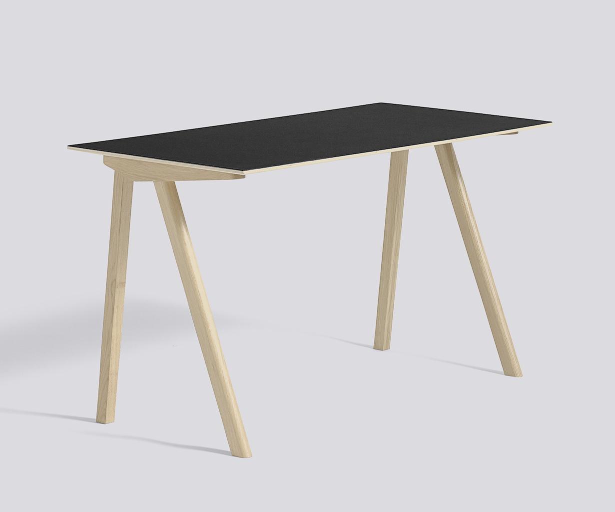 Hay CPH 90 Desk Eiche Lino black