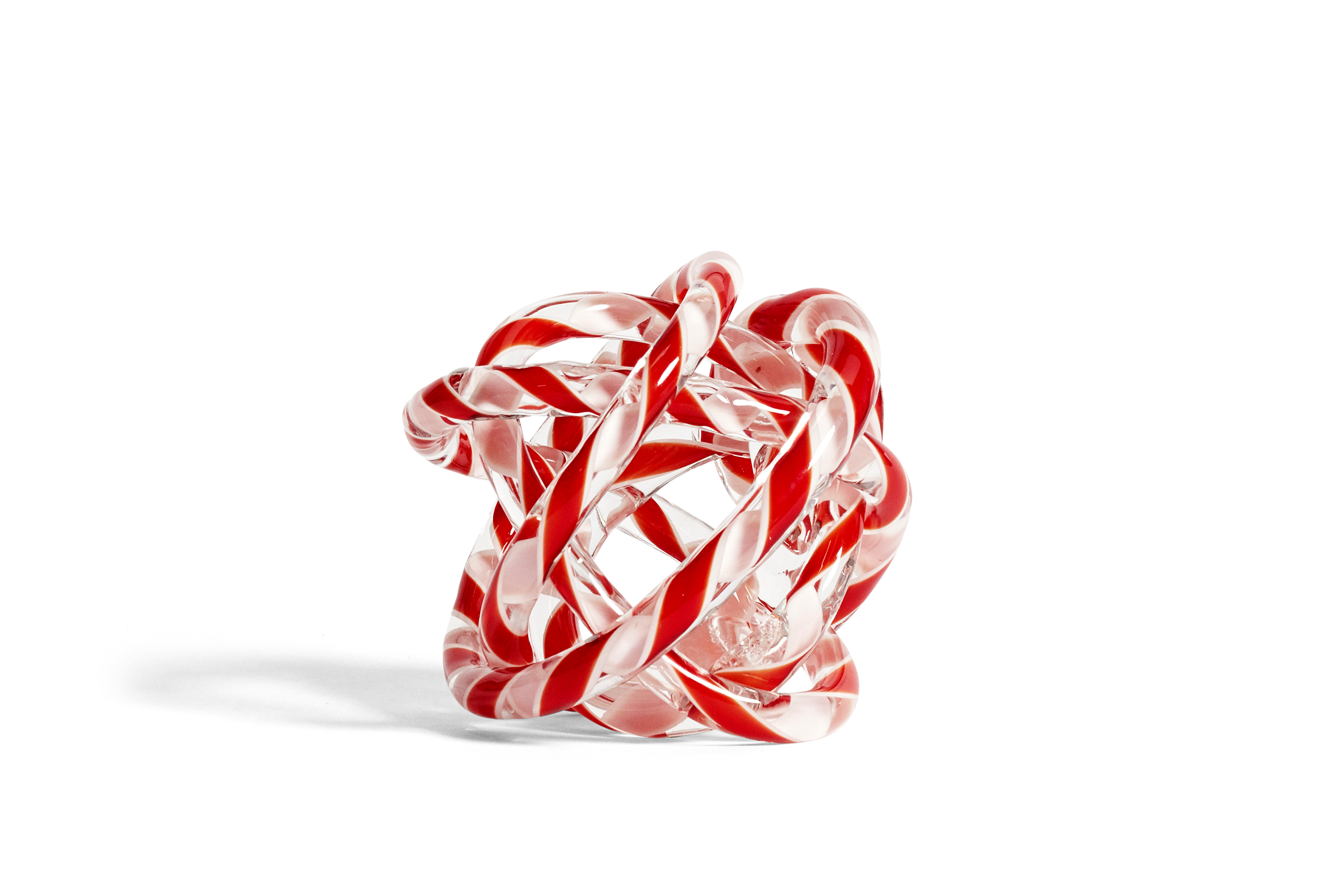 HAY Knot No2 M red & white