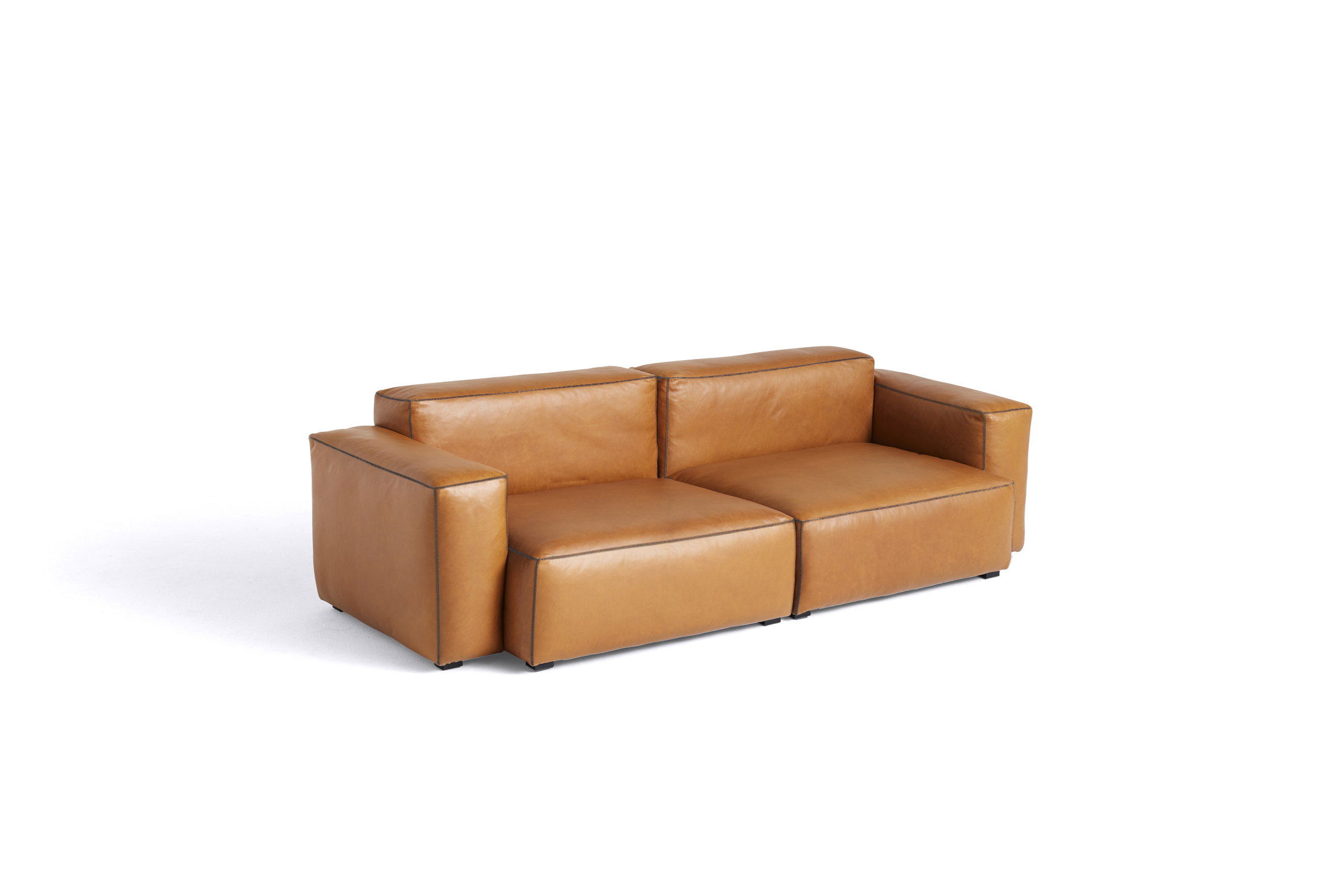 HAY Mags Soft Sofa 2,5 Sitzer Kombination 1 low