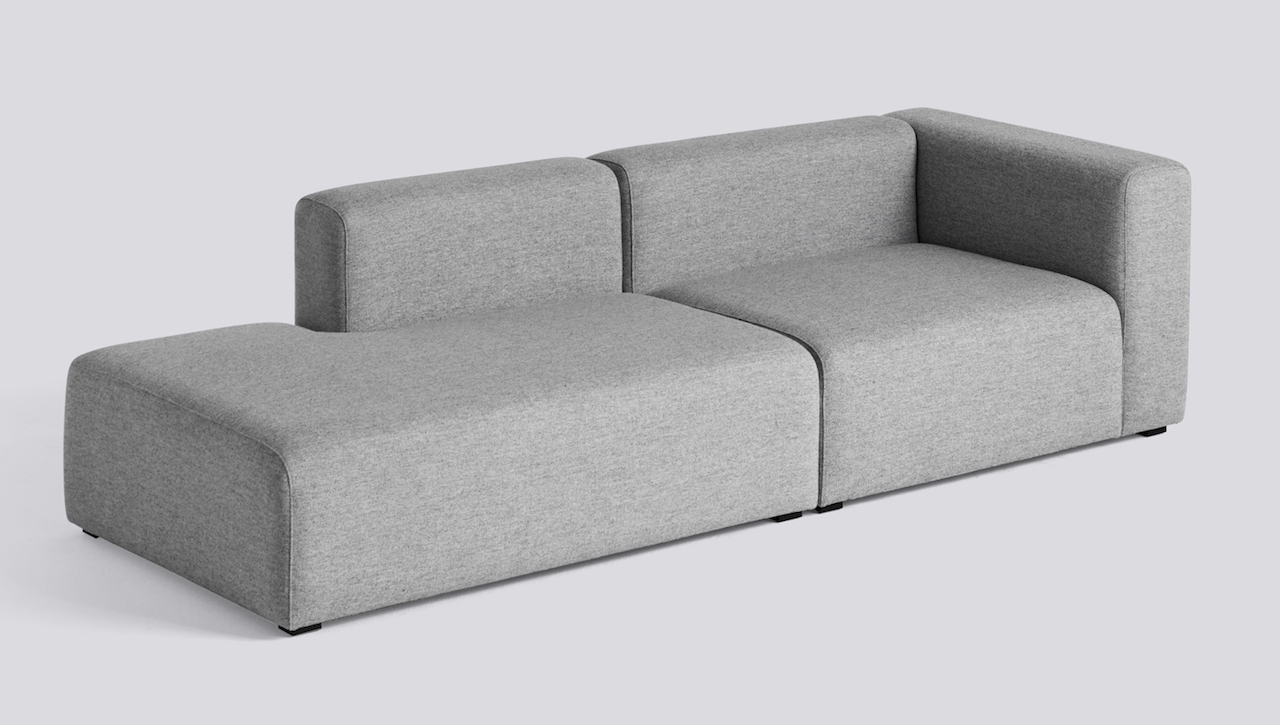 HAY Mags Sofa 2,5 Sitzer Komination 2 Right End | Hallingdal 130