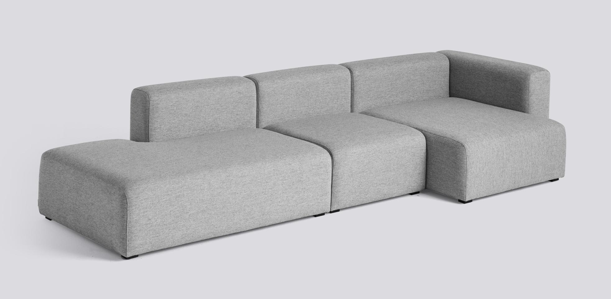 HAY Mags Sofa 3 Sitzer Komination 4 Right End | Hallingdal 116