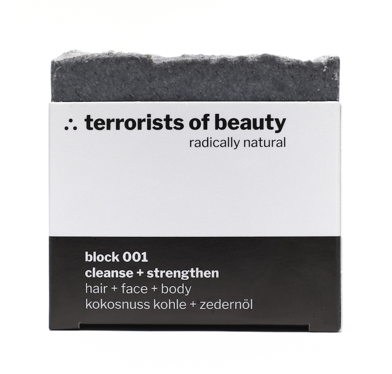 terrorists of beauty cleanse + strengthen