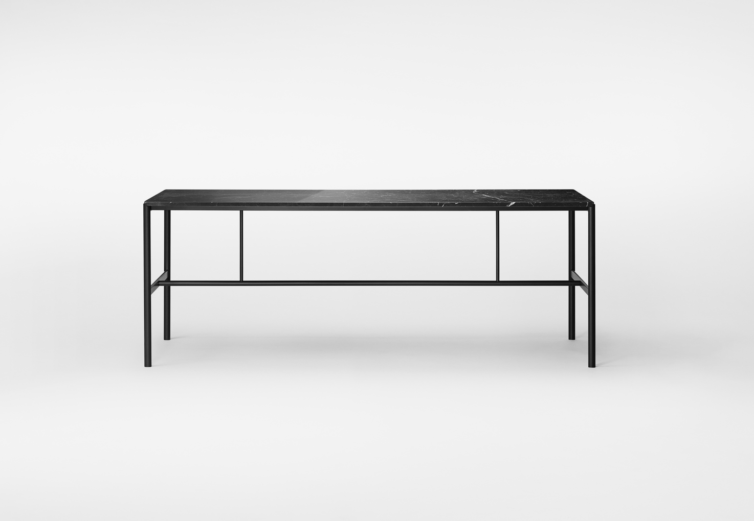 Million Copenhagen MIES Dinig Table black Marble