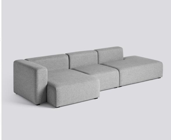 HAY Mags Sofa 3 Sitzer Komination 4 Left End | Hallingdal 130