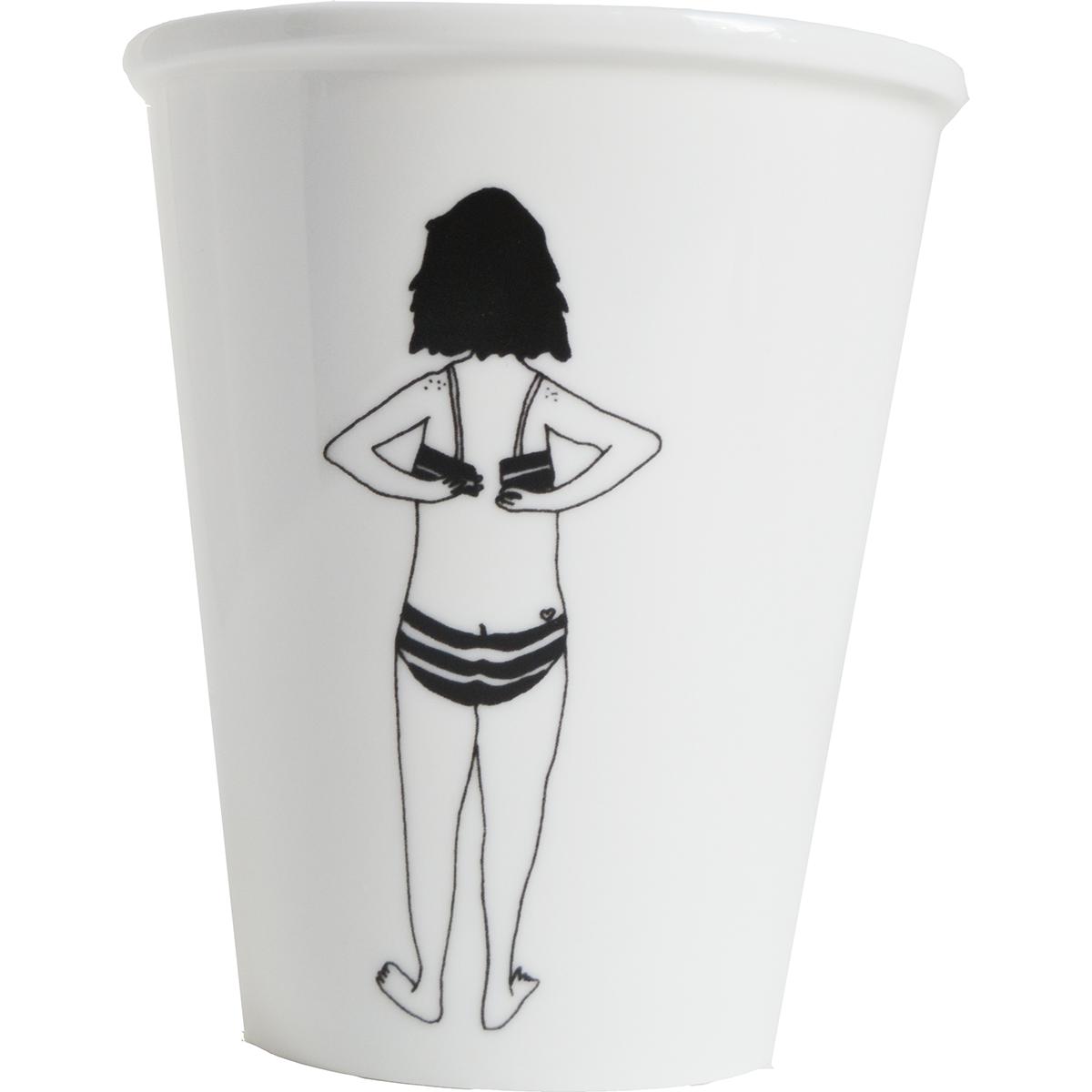 helen b Becher Bikini Girl
