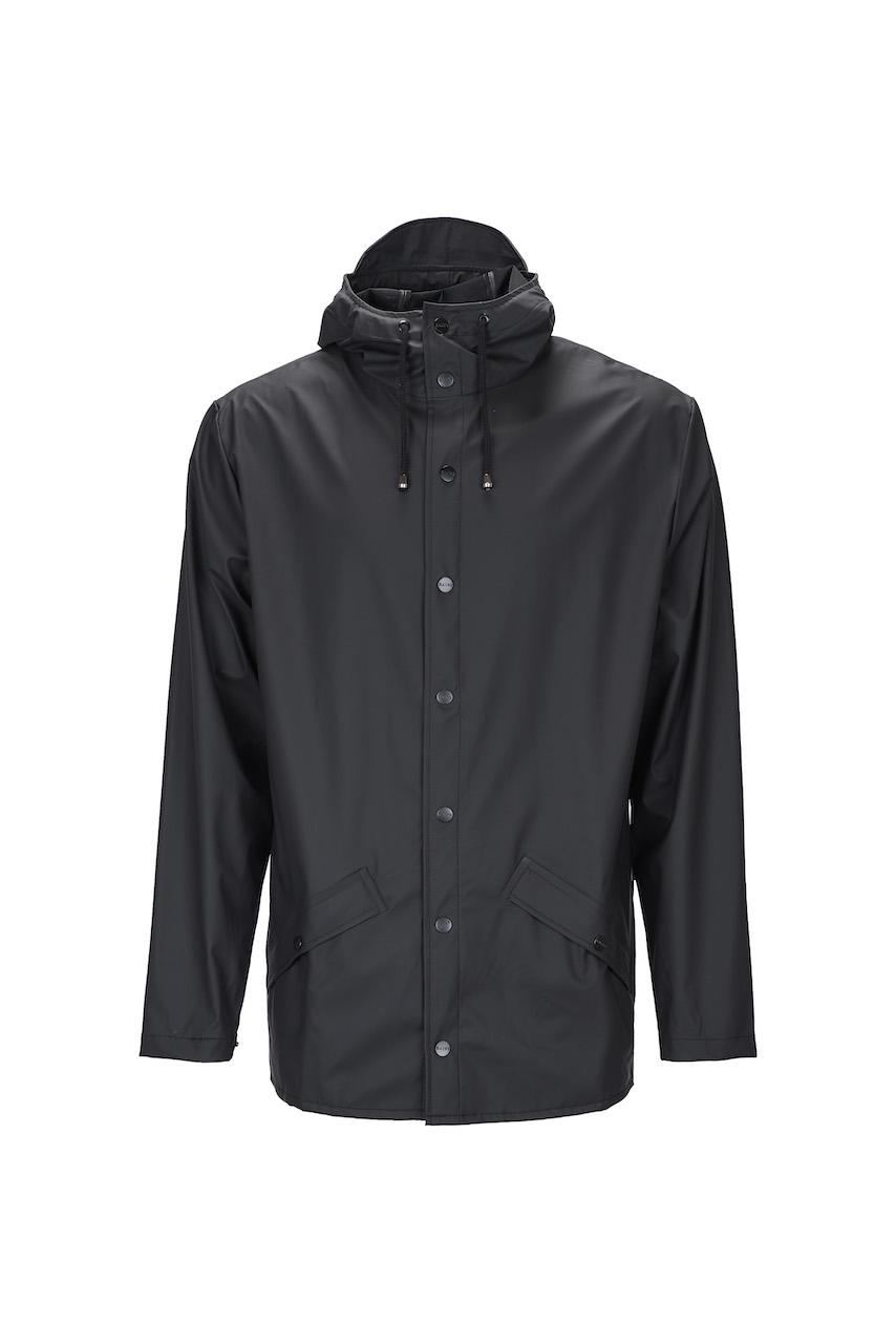 Rains Jacket black unisex M/L