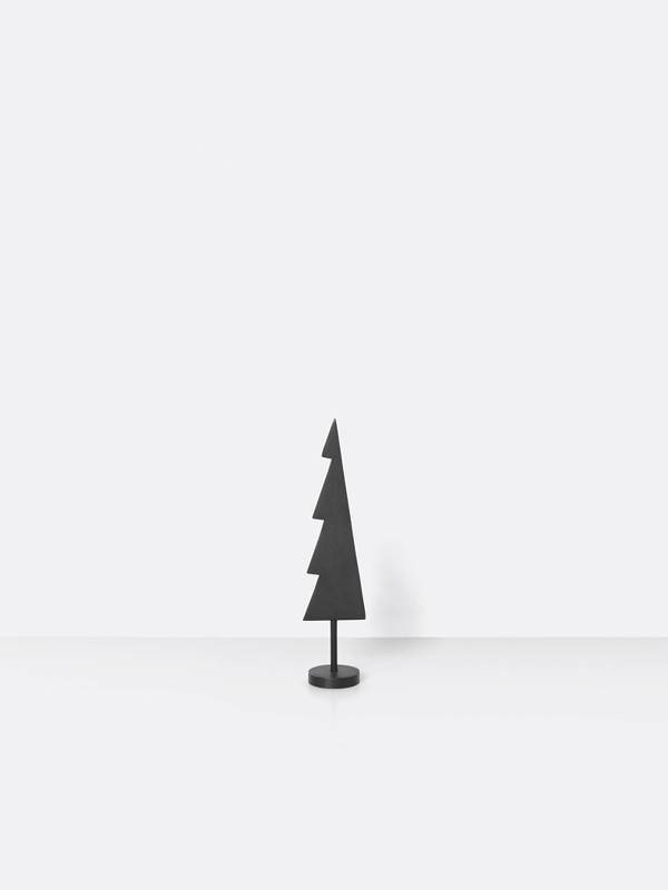 ferm living Black Brass Winterland Tree