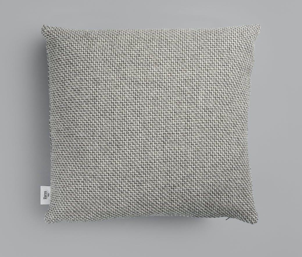 Røros Tweed Kissen Una grau