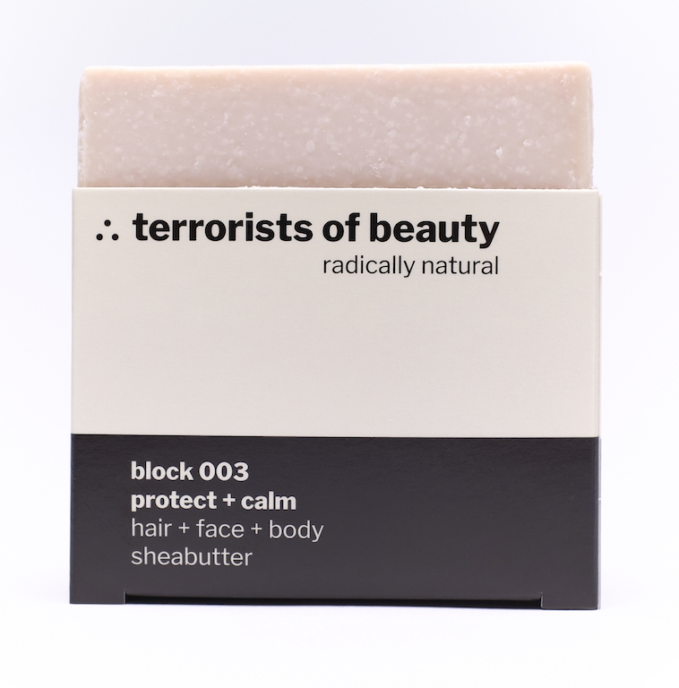 terrorists of beauty protect + calm