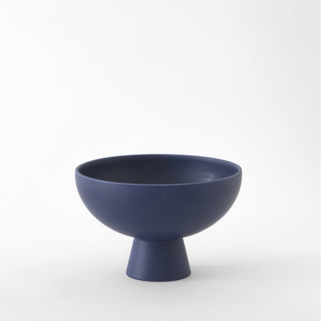 raawii Medium Bowl blue