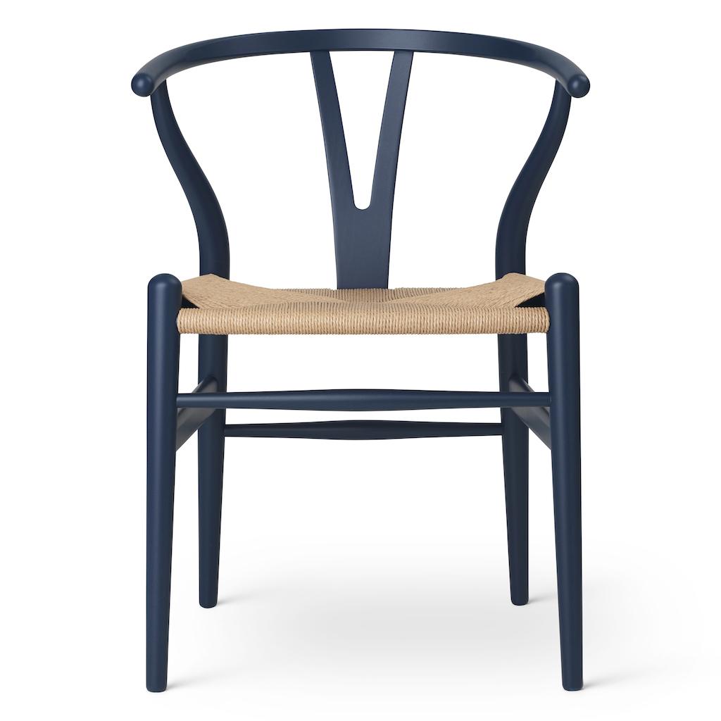 Carl Hansen CH 24 soft blue Wishbone Chair