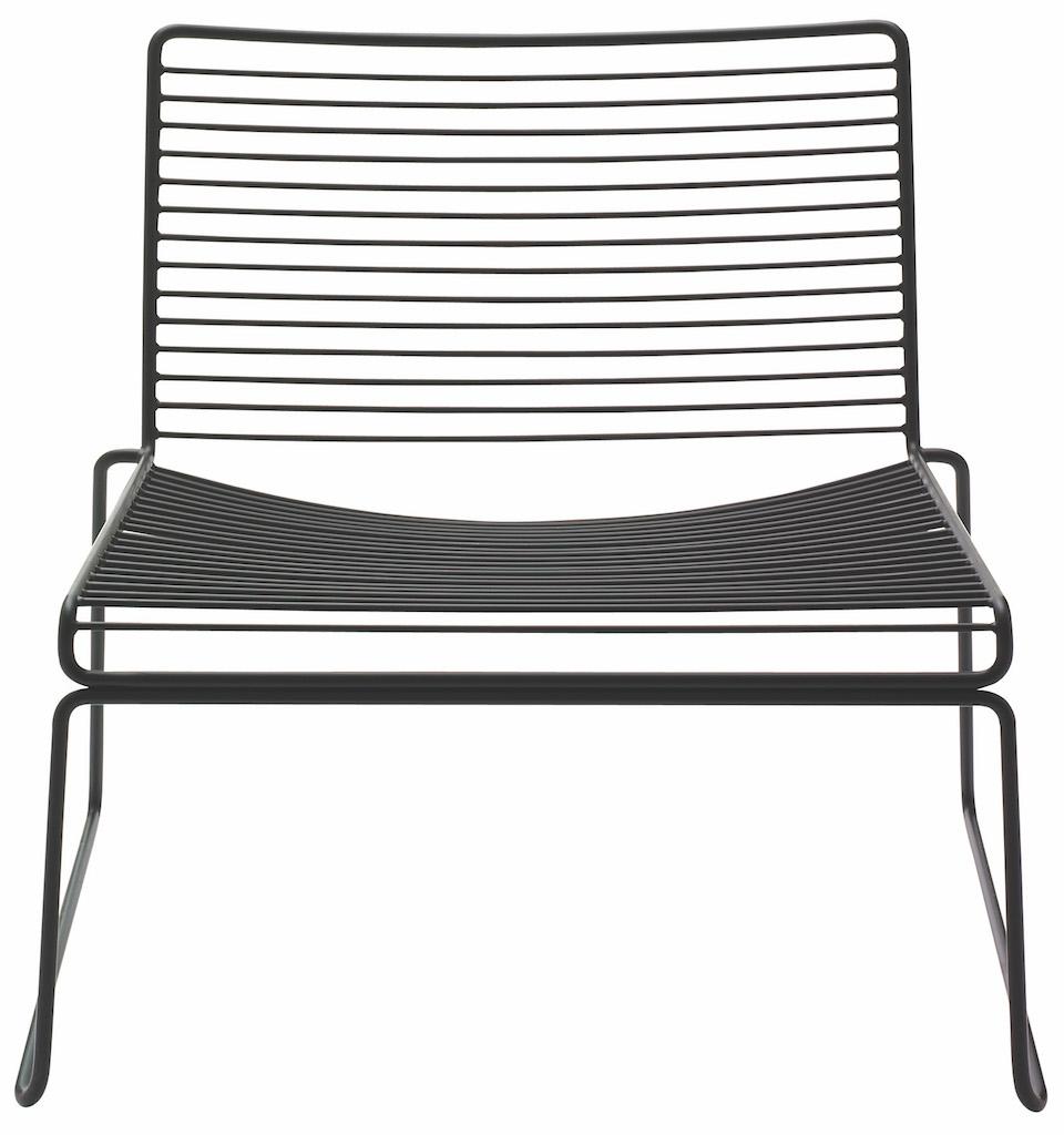Hay HEE Lounge Stuhl Black