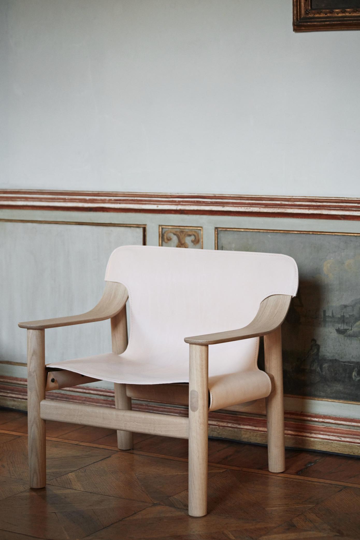 HAY Loungesessel Bernard Eiche - Canvas