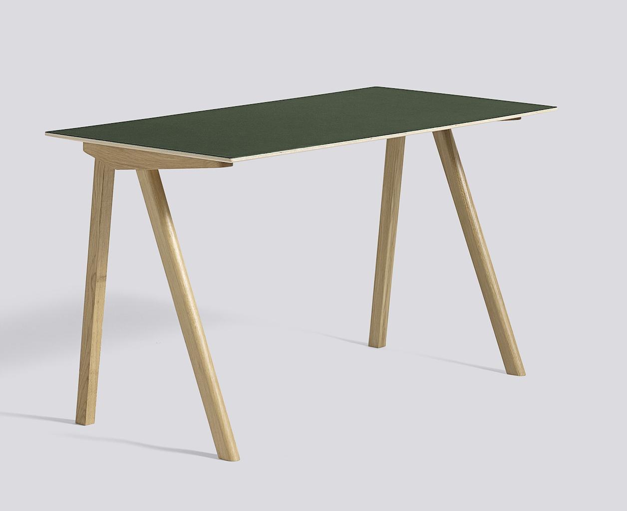 Hay CPH 90 Desk Eiche Lino green