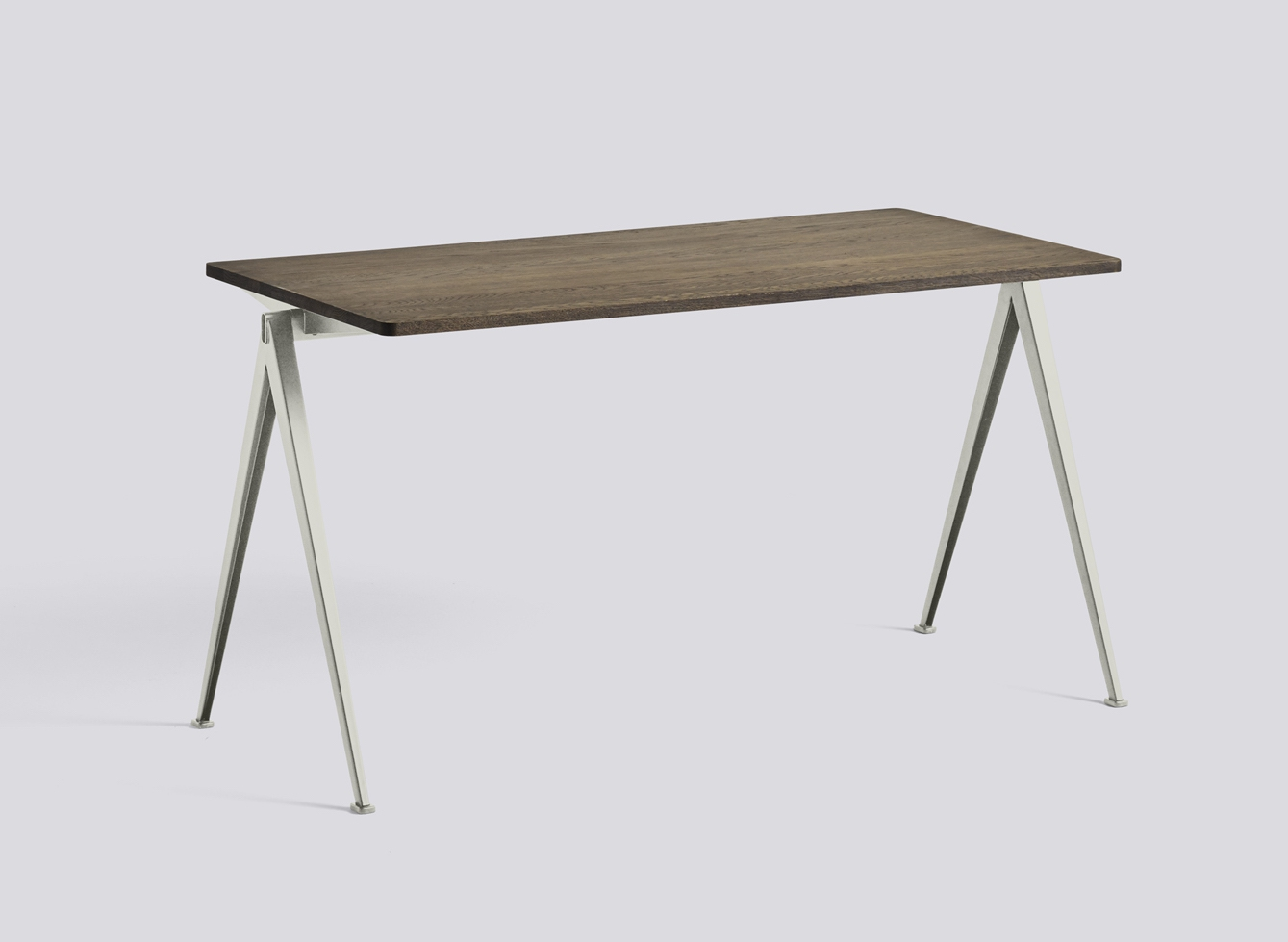 HAY Tisch Pyramid Table 01 beige - smoked oak