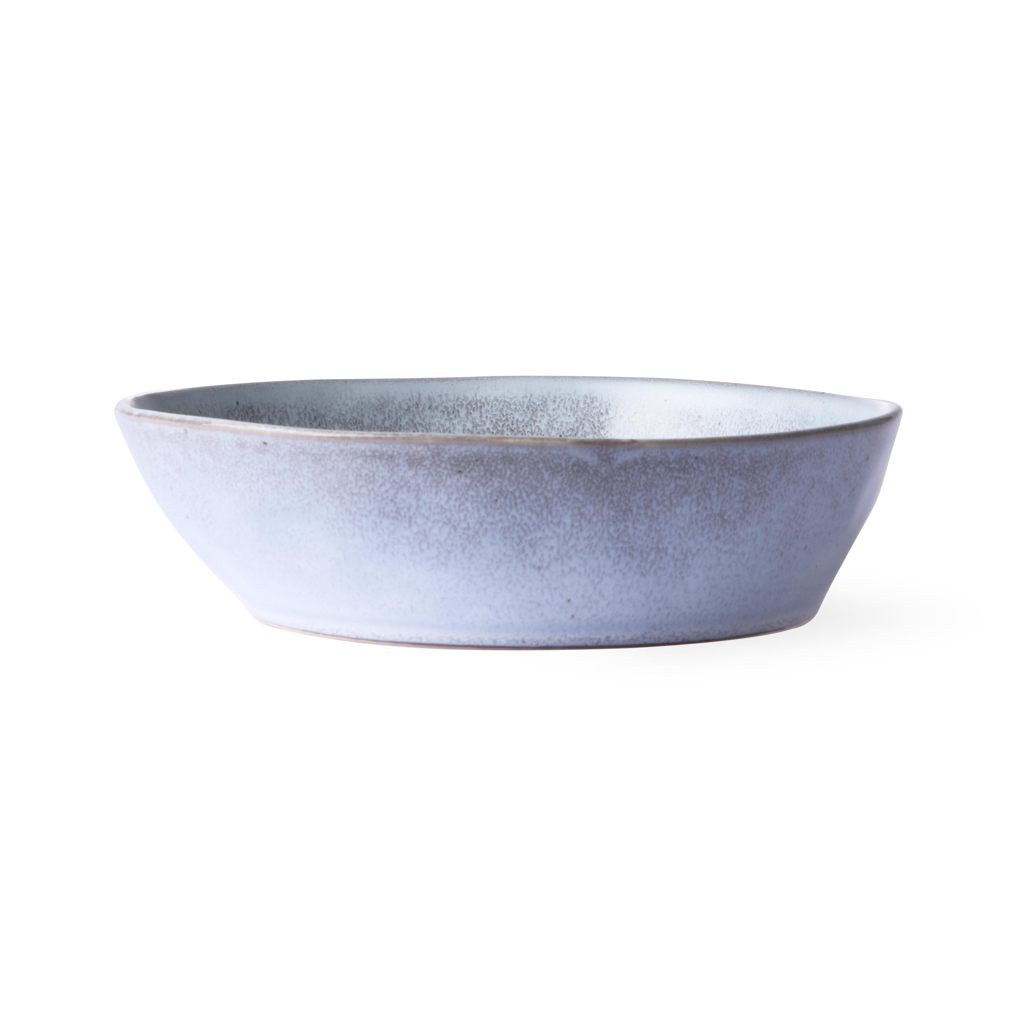 HK Living Bold & Basic Ceramics Schale rustic grey