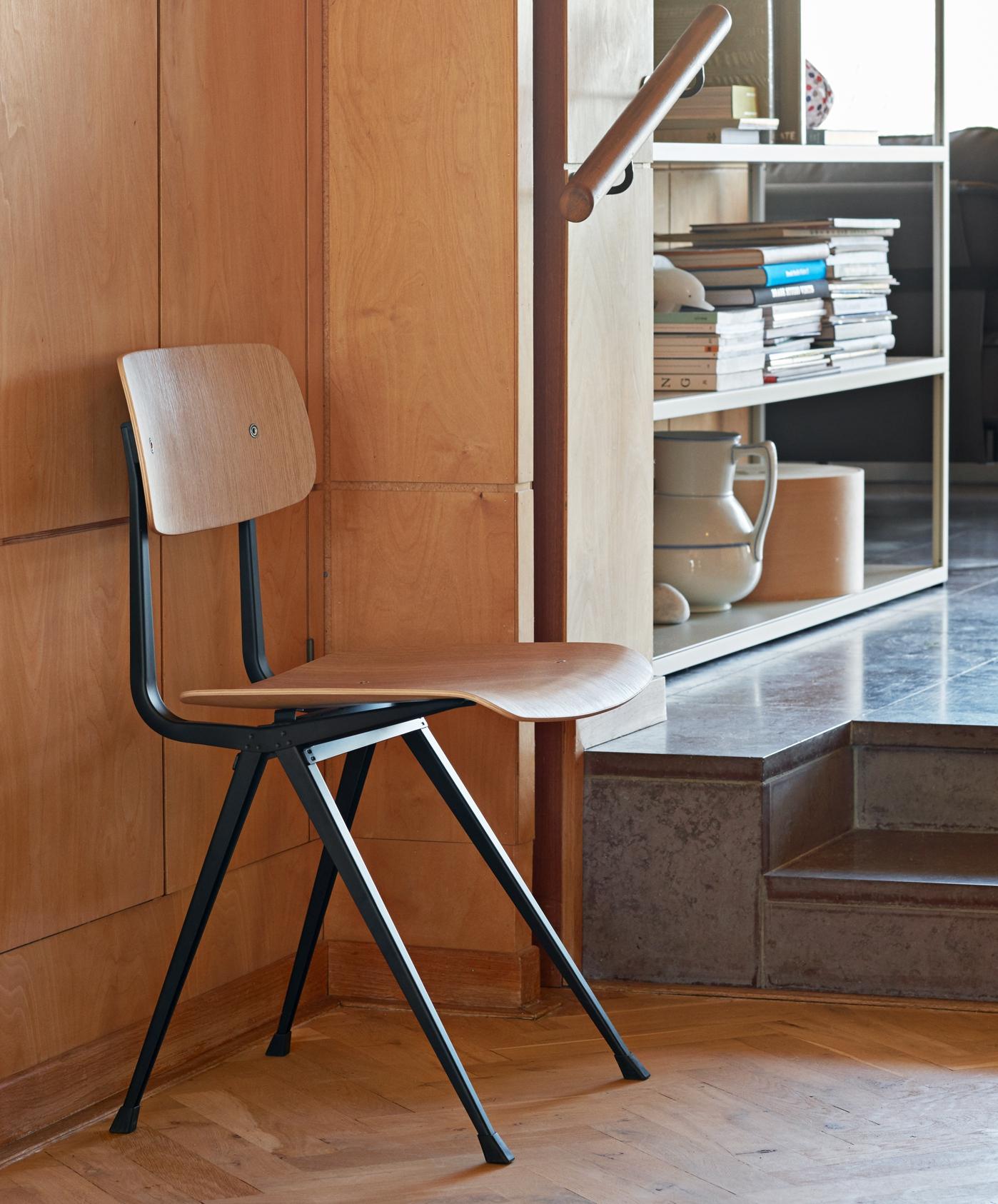 HAY Result Chair beige- smoked oak