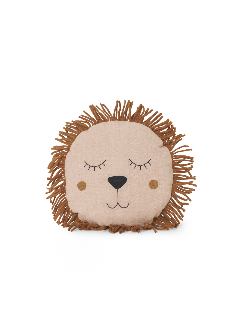ferm living Kissen Lion rose