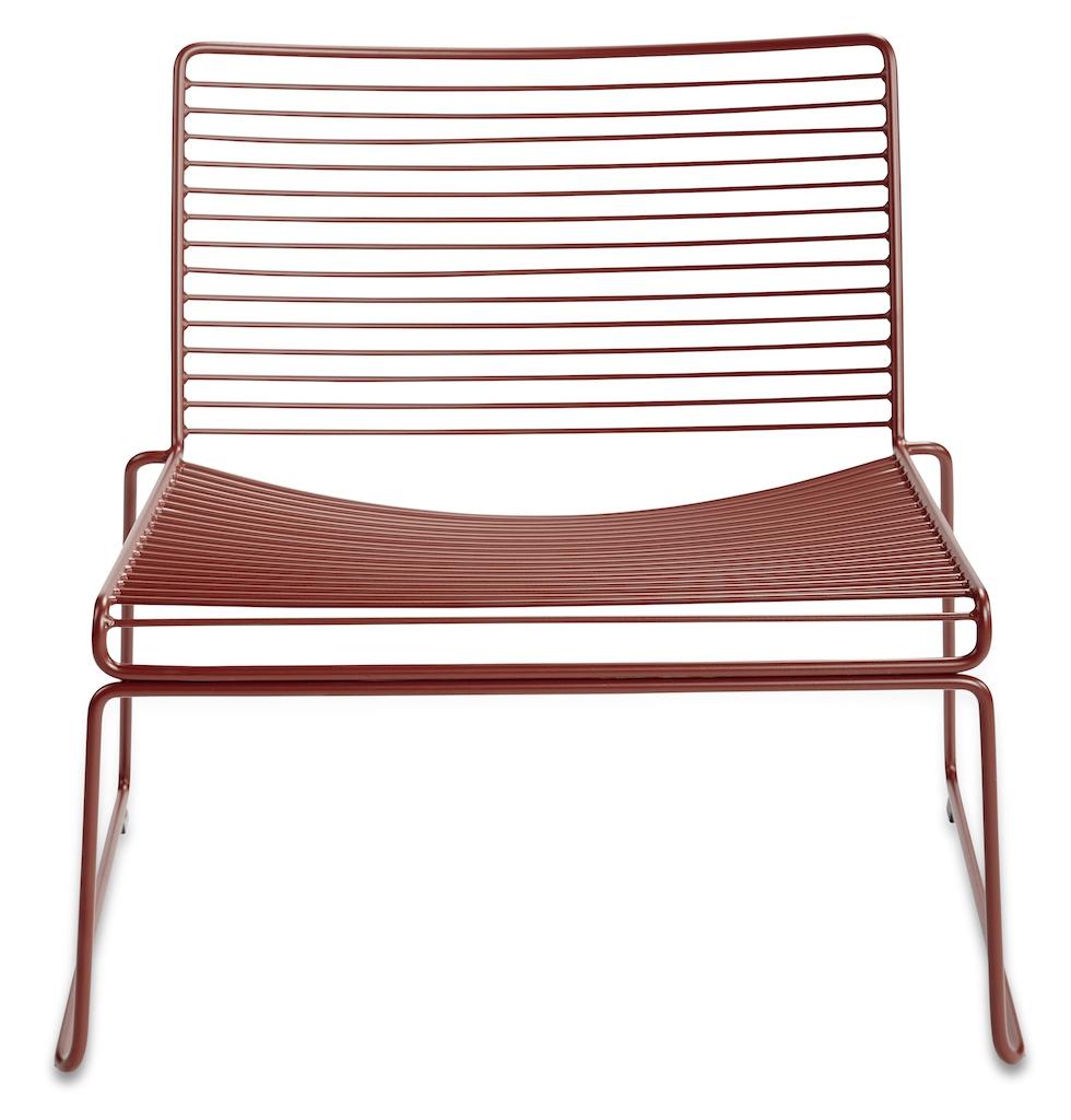 Hay HEE Lounge Stuhl Rust
