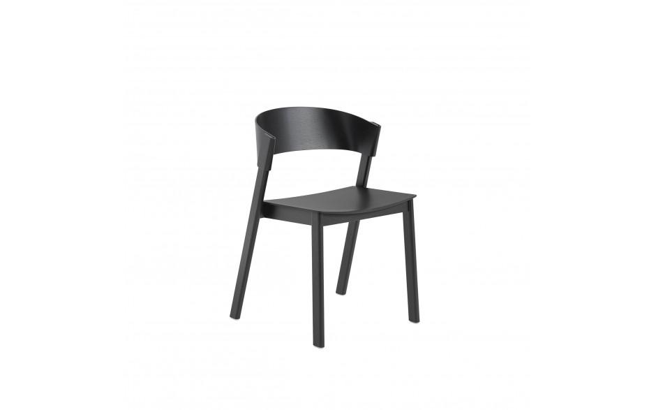 muuto Cover Chair schwarz