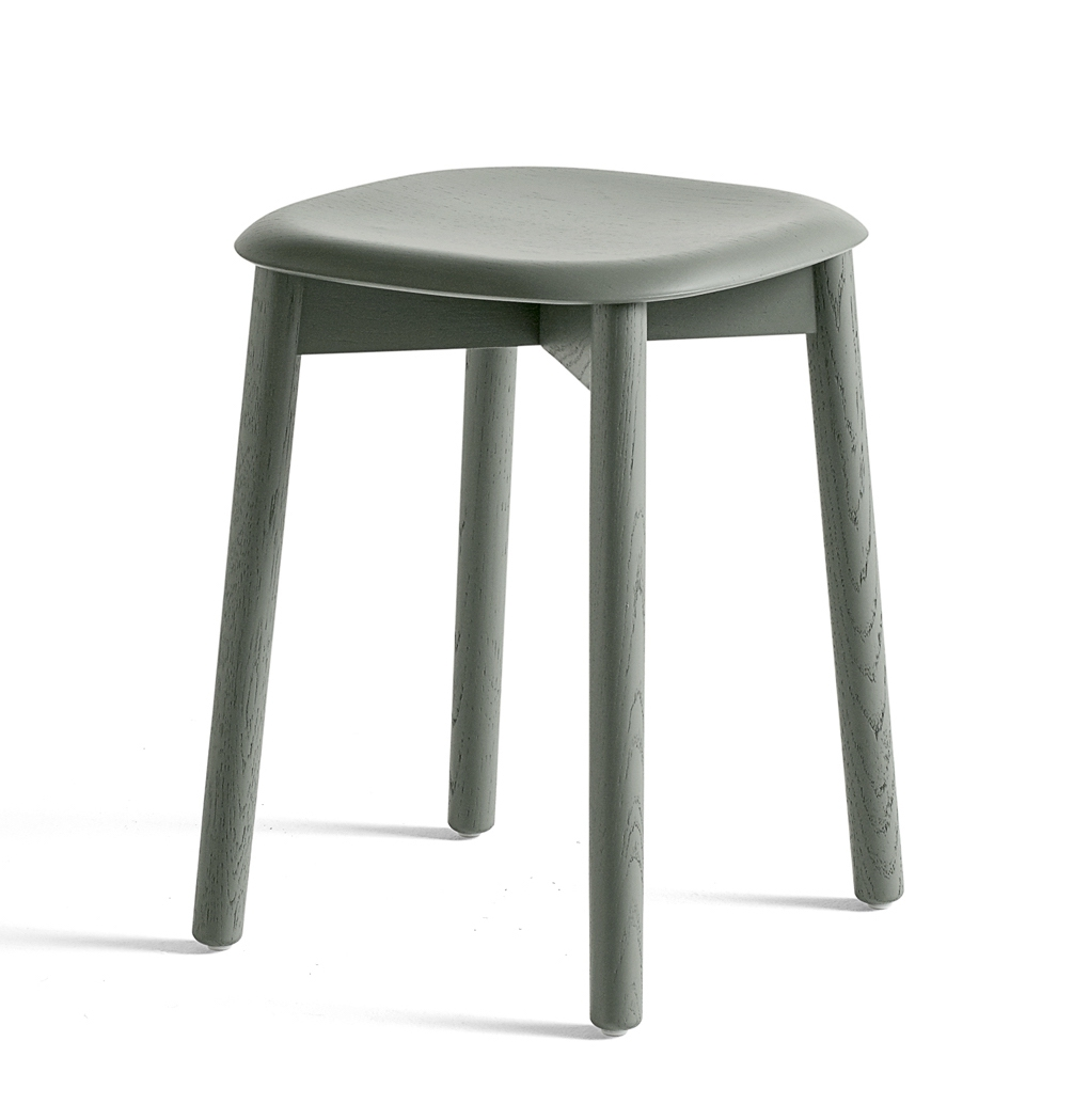 HAY Hocker Soft Edge 72 dusty green