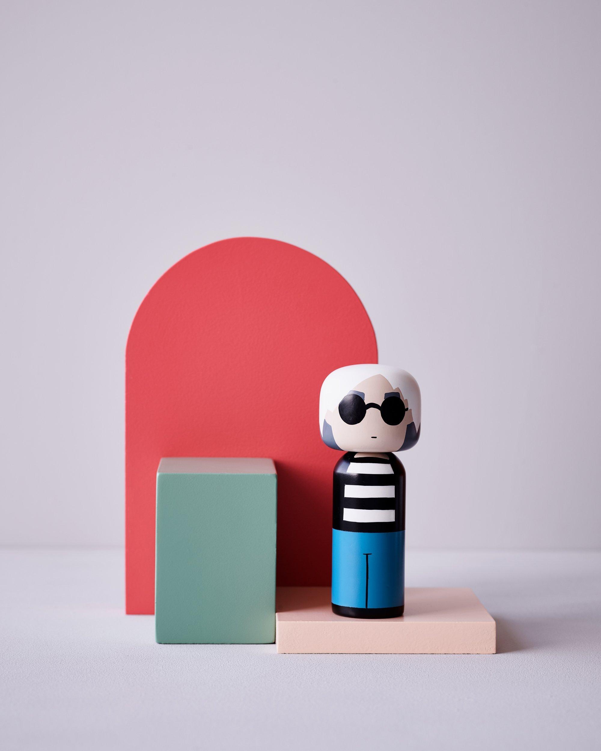 Lucie Kaas Kokeshi Doll Andy