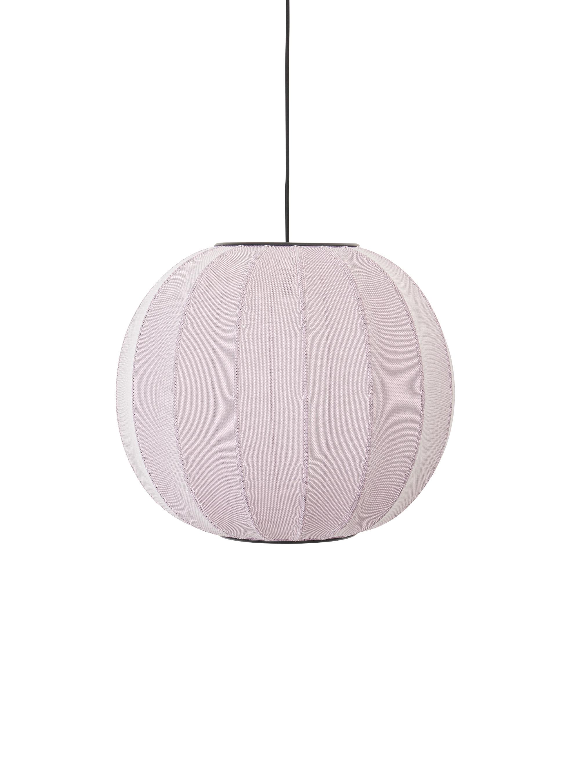 Made by Hand Knit Wit Pendelleuchte Light Pink ø45cm