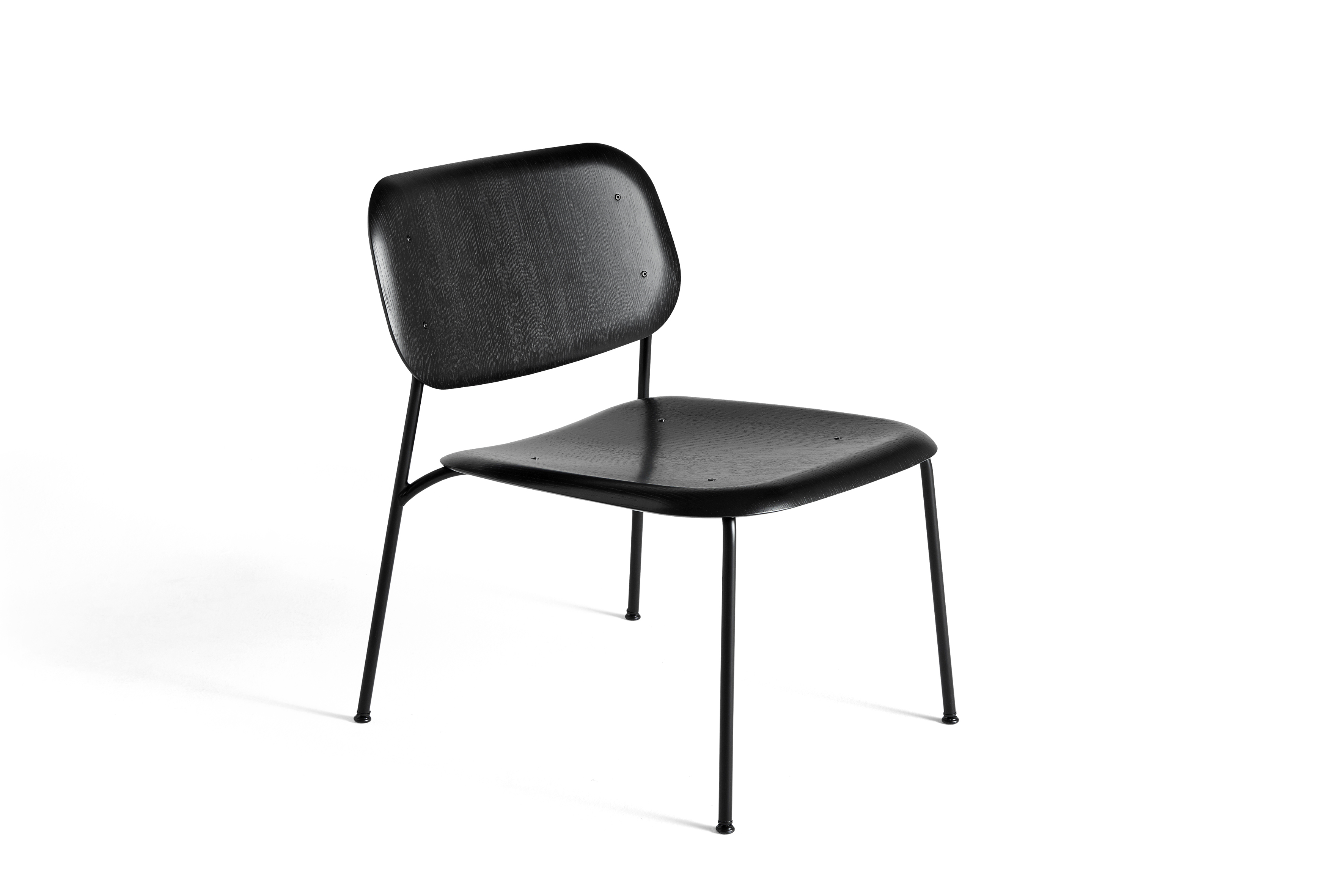 HAY Soft Edge 10 Lounge schwarz | schwarz