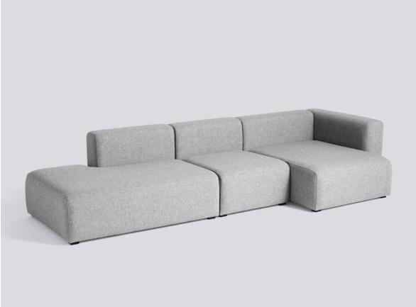 HAY Mags Sofa 3 Sitzer Komination 4 Right End | Hallingdal 130