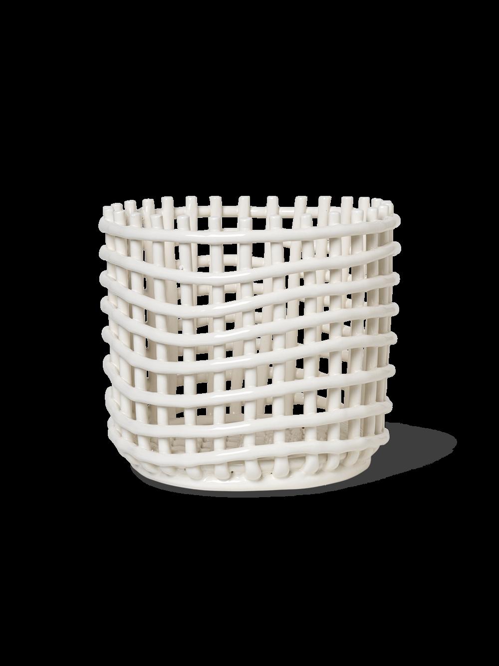 ferm living Keramik Korb large
