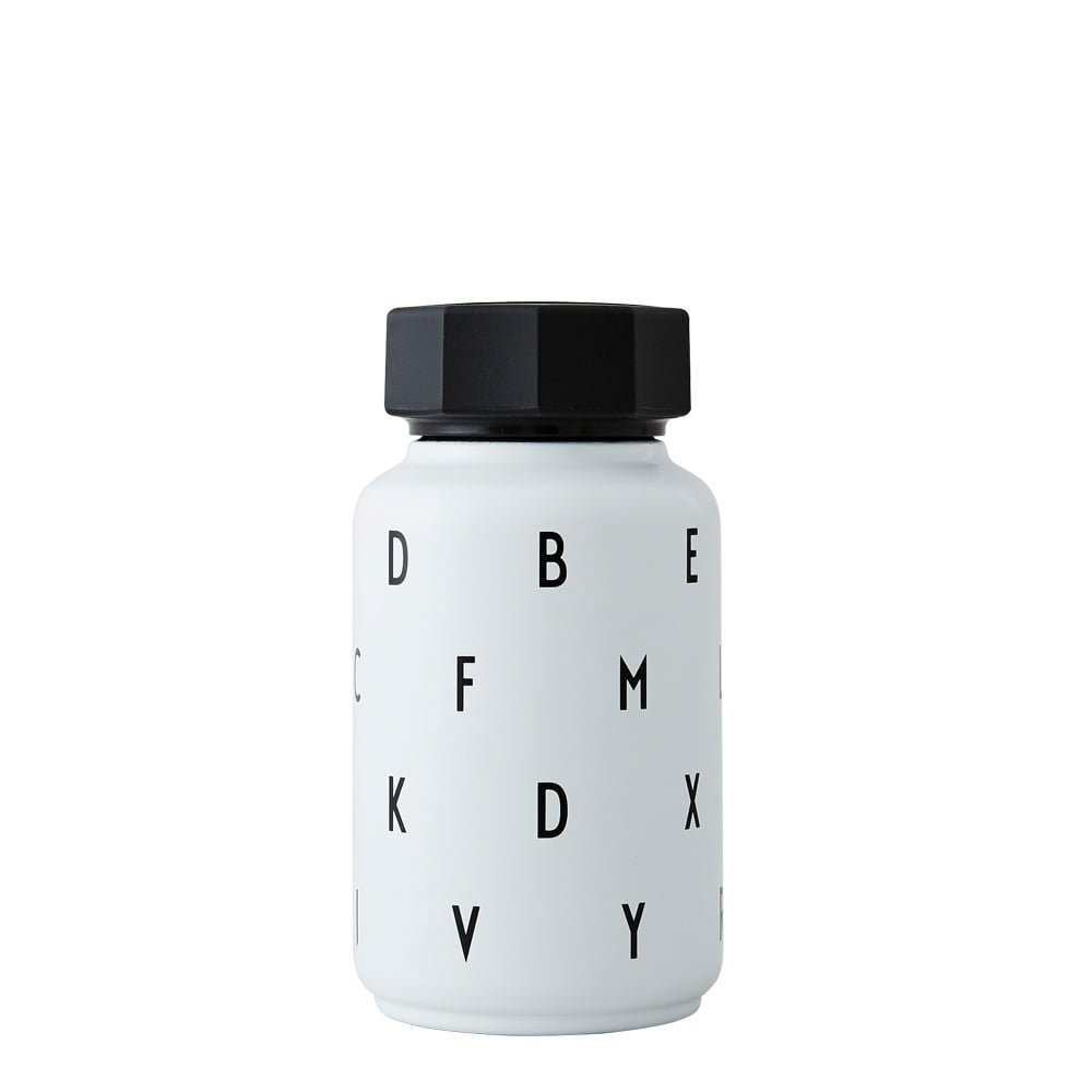 Design Letters Thermobottle weiß Kids