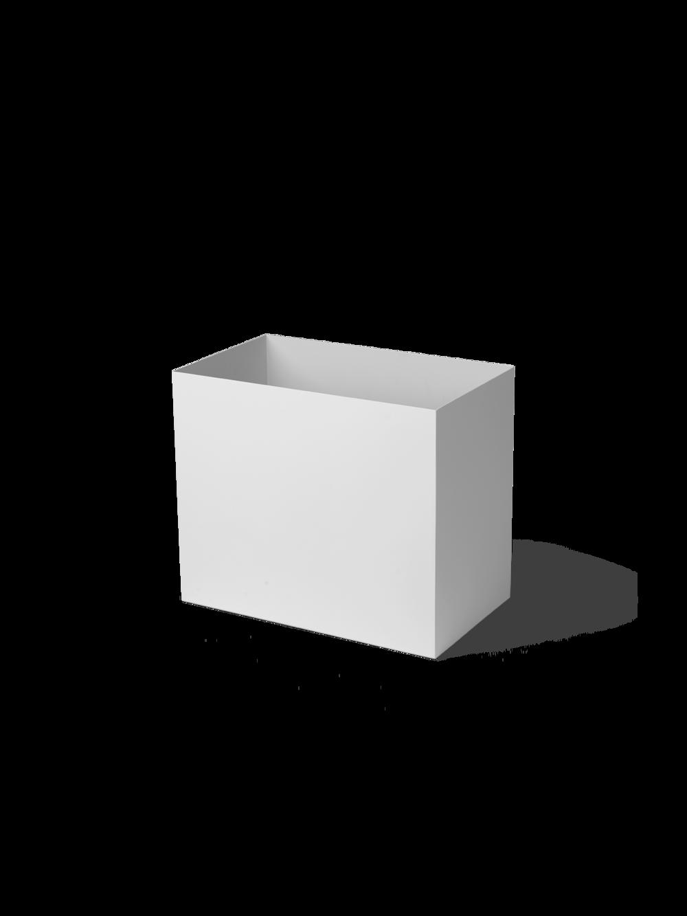 ferm living Plant Box Pot grau large