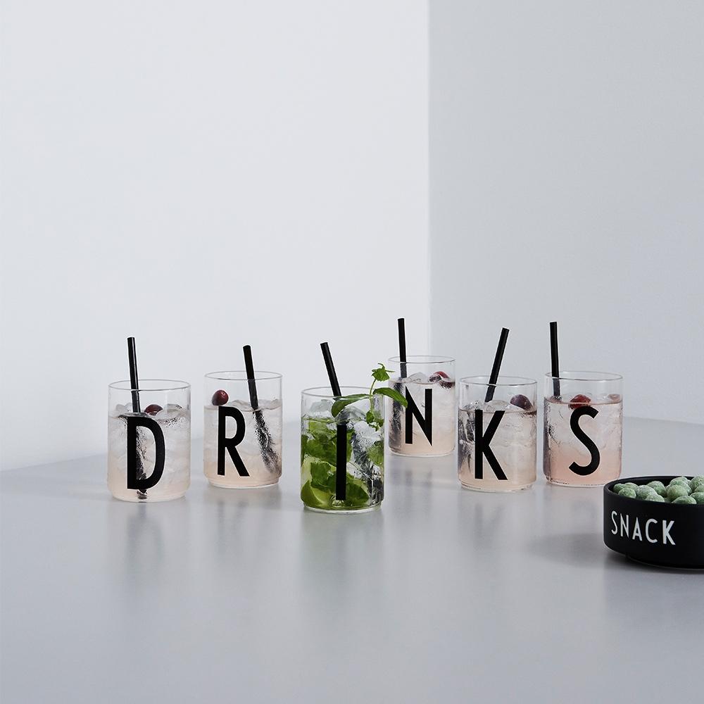 Design Letters Drinkglas