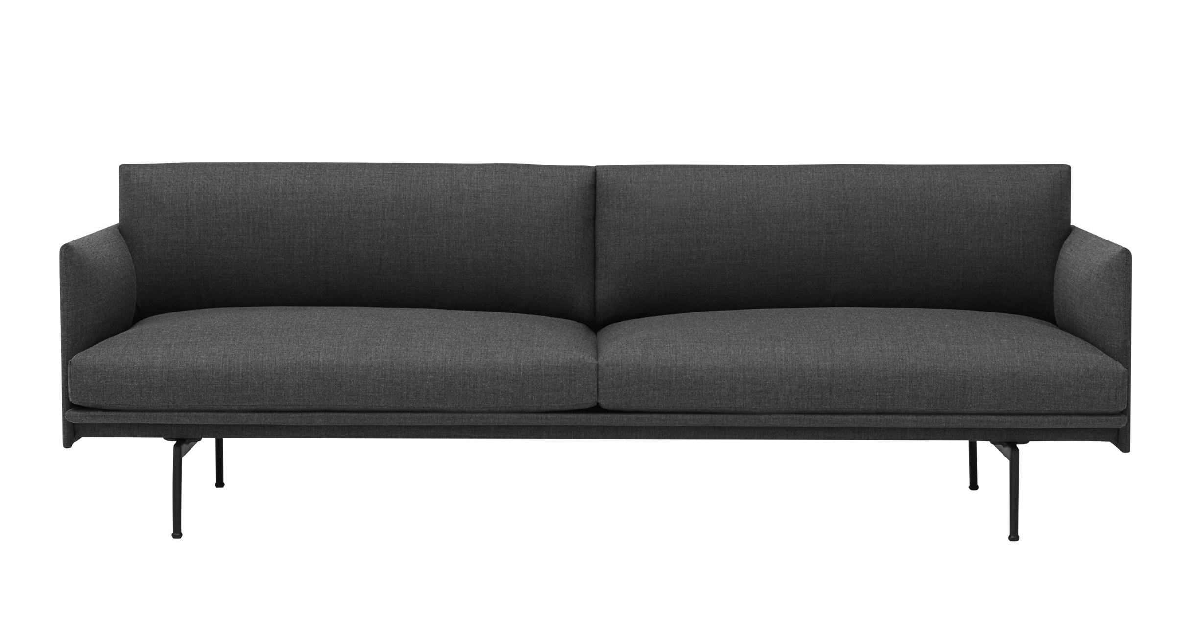 muuto Sofa Outline 3 Sitzer Remix 163