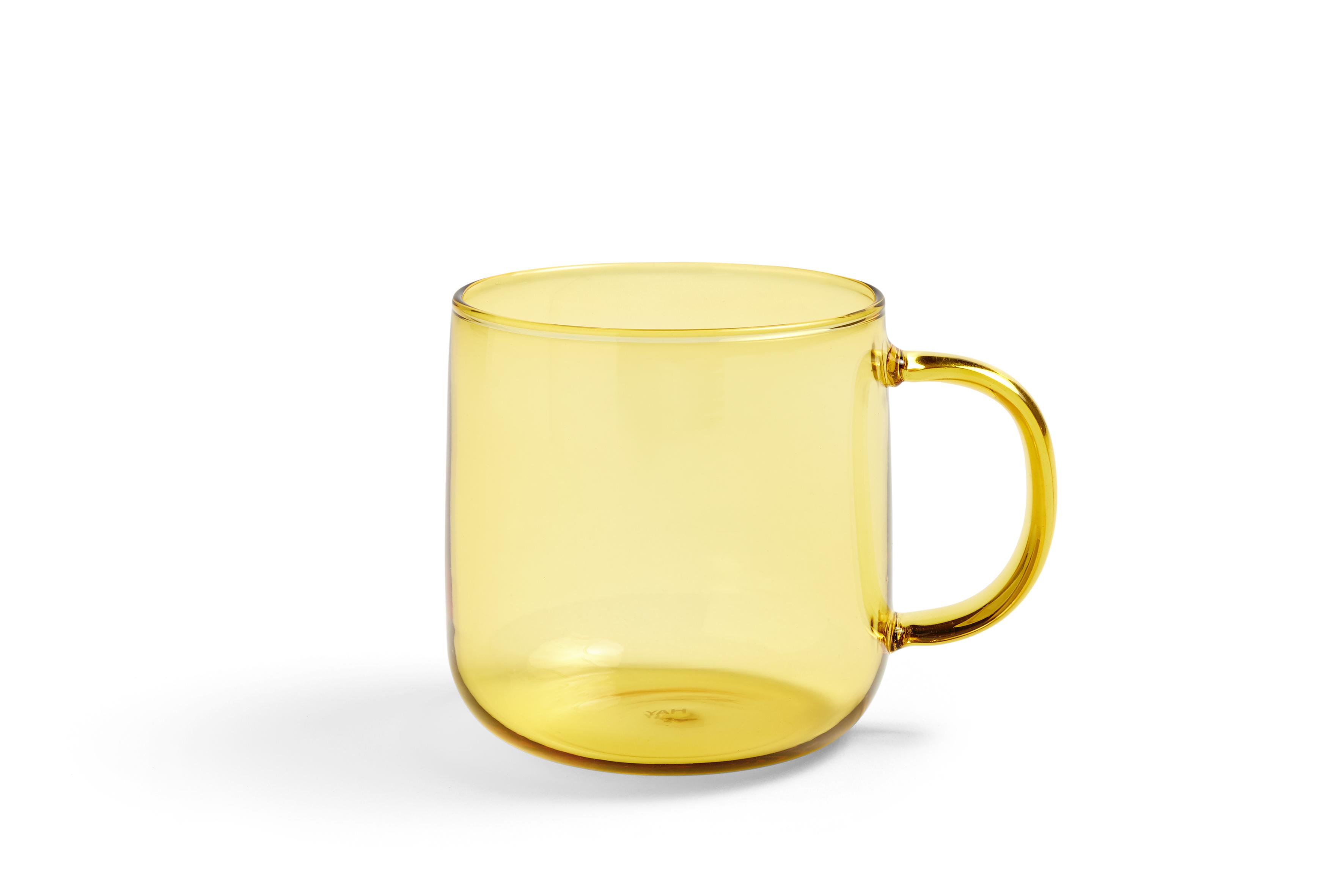 HAY Tasse Borosilicate gelb