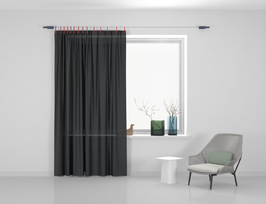 Kvadrat Ready made curtain Stoff Haze 164
