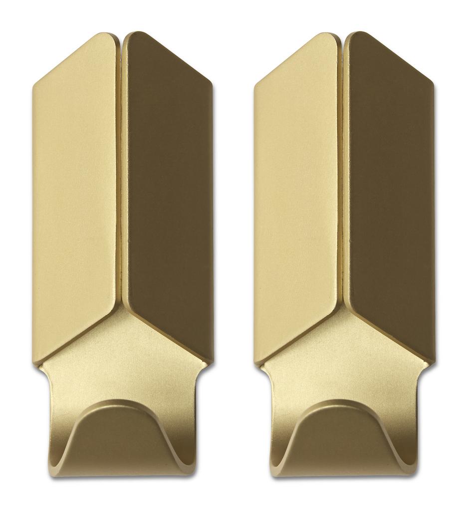 HAY Garderobenhaken Volet gold