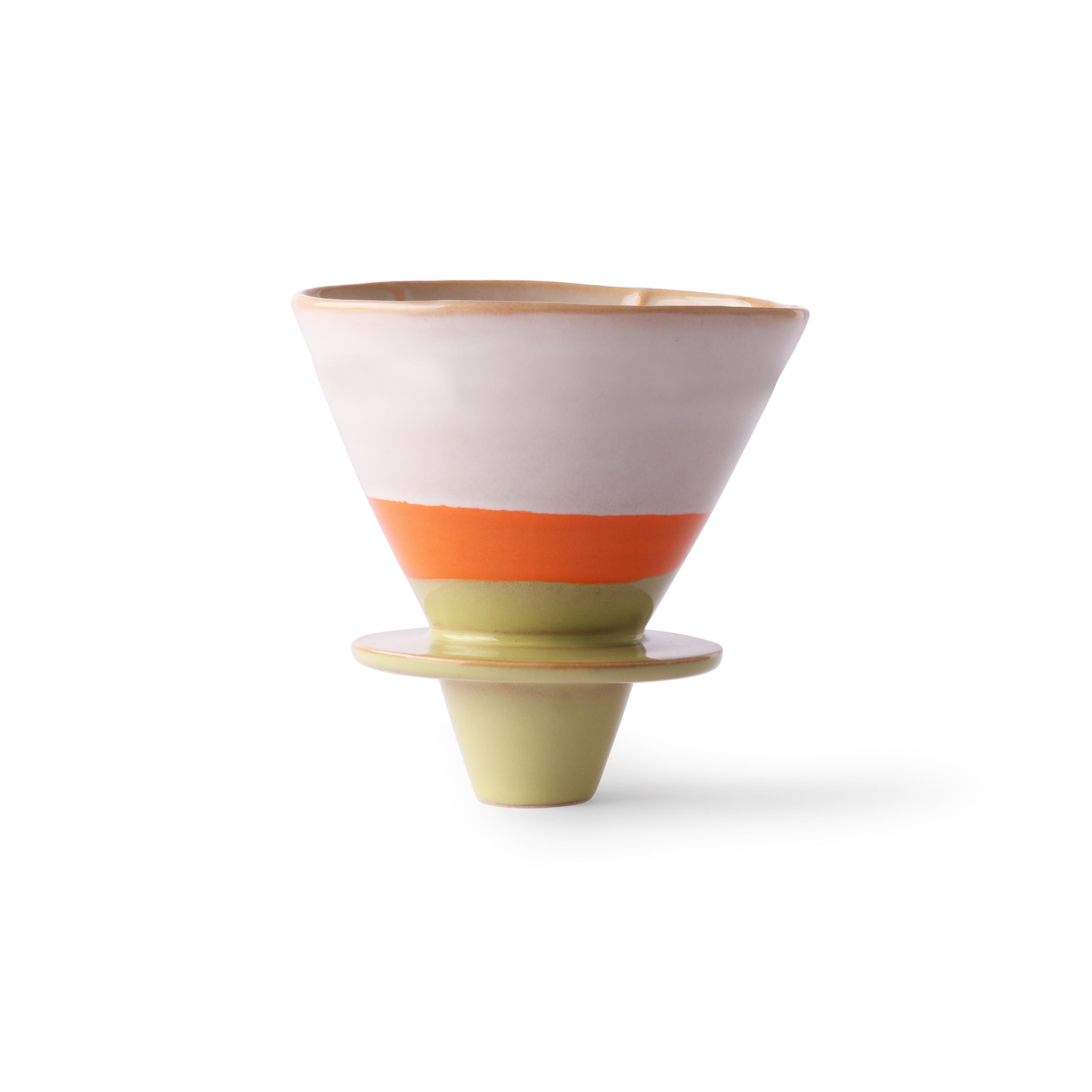 HK Living Ceramic 70's Filter für Kaffeekanne