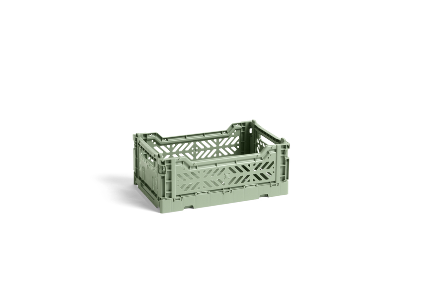 HAY colour crate Stapelkiste dusty green  S