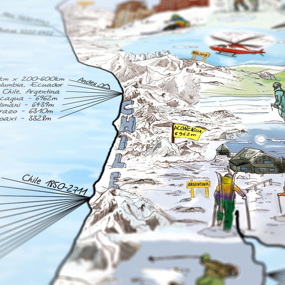 Awesome Maps Snowtrip Karte