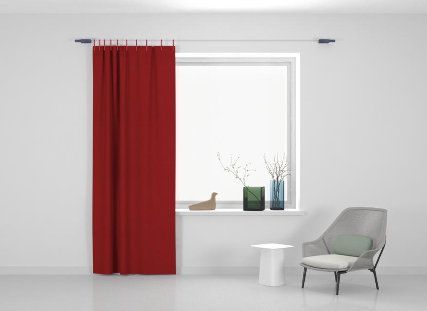 Kvadrat Ready made curtain Stoff Frozen 610