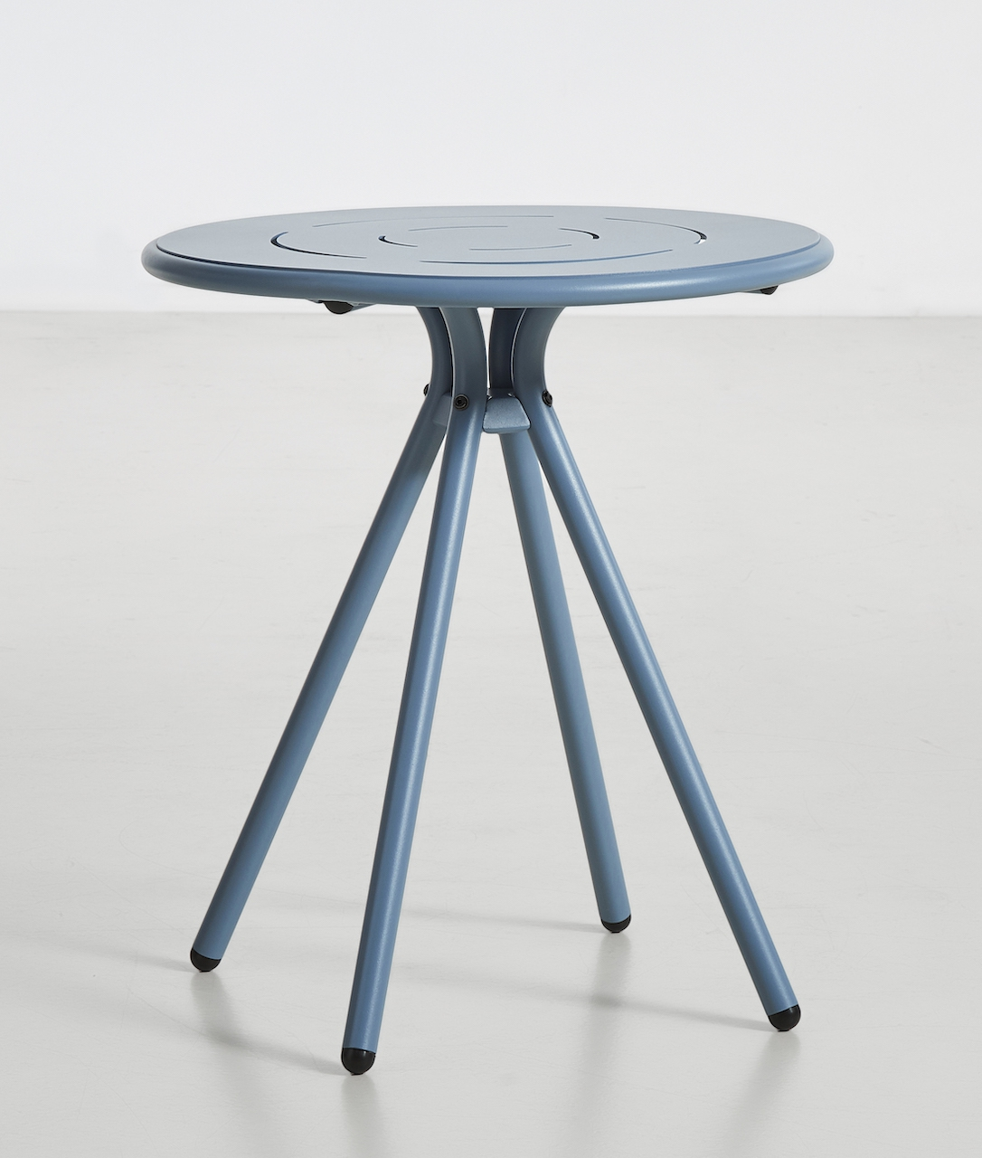Woud Ray Café Table rund blau
