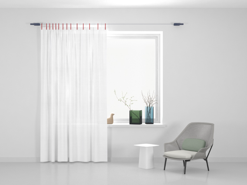 Kvadrat Ready made curtain Papier/Stoff Washi 120