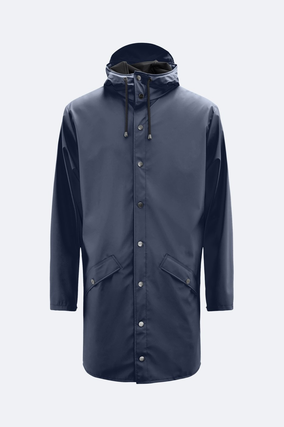 Rains Long Jacket  blue unisex  XS/S