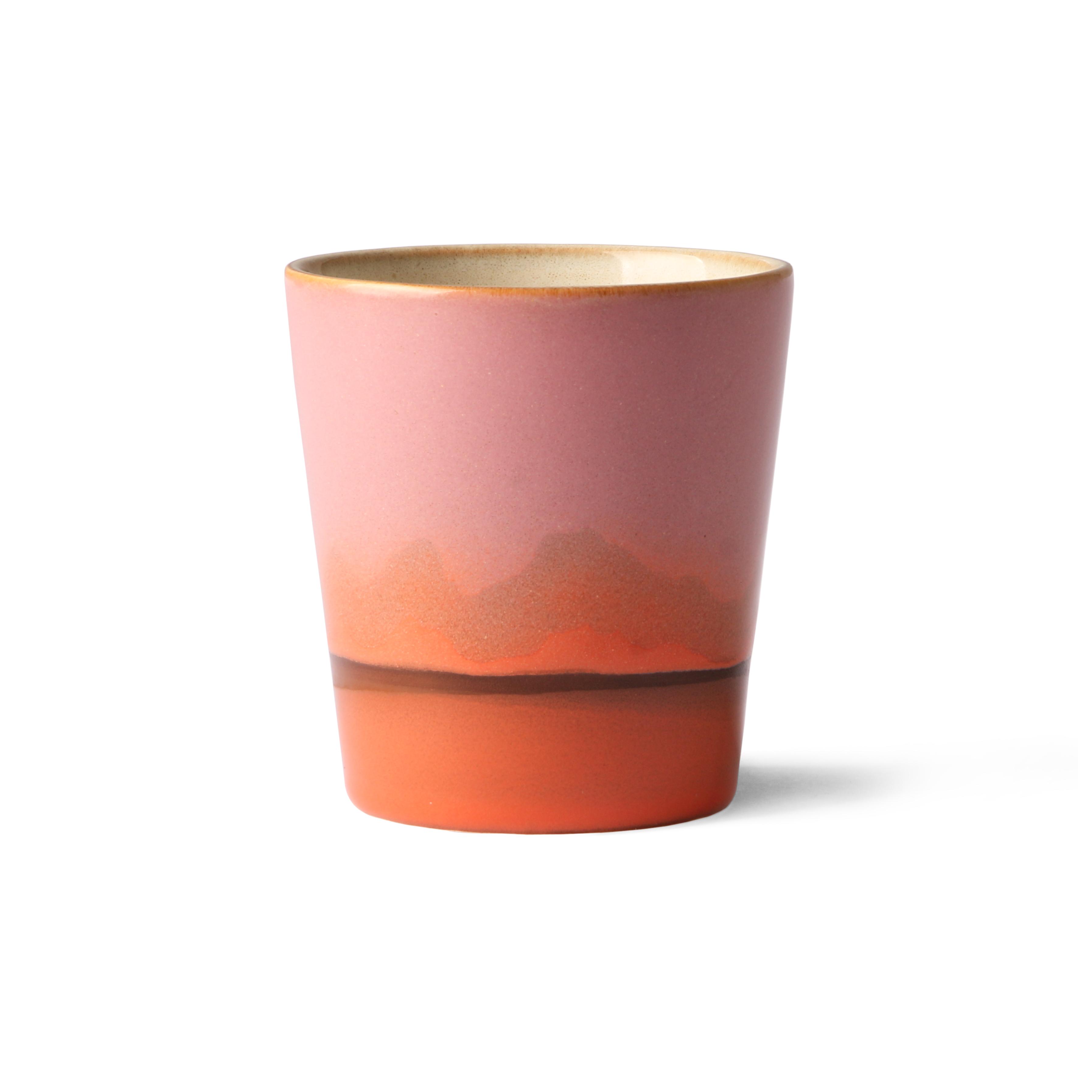 HK Living Ceramic 70's Becher Mars