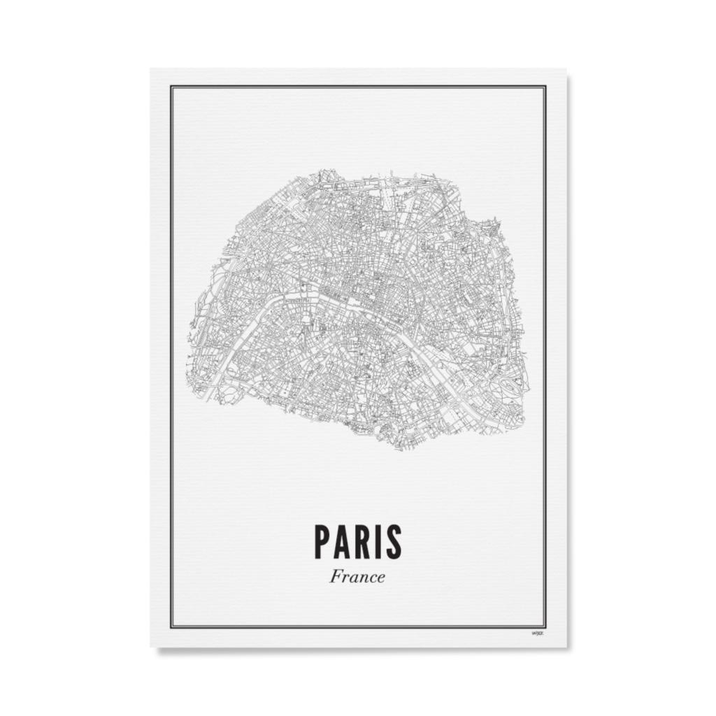 Wijck Poster Paris City 21x30cm