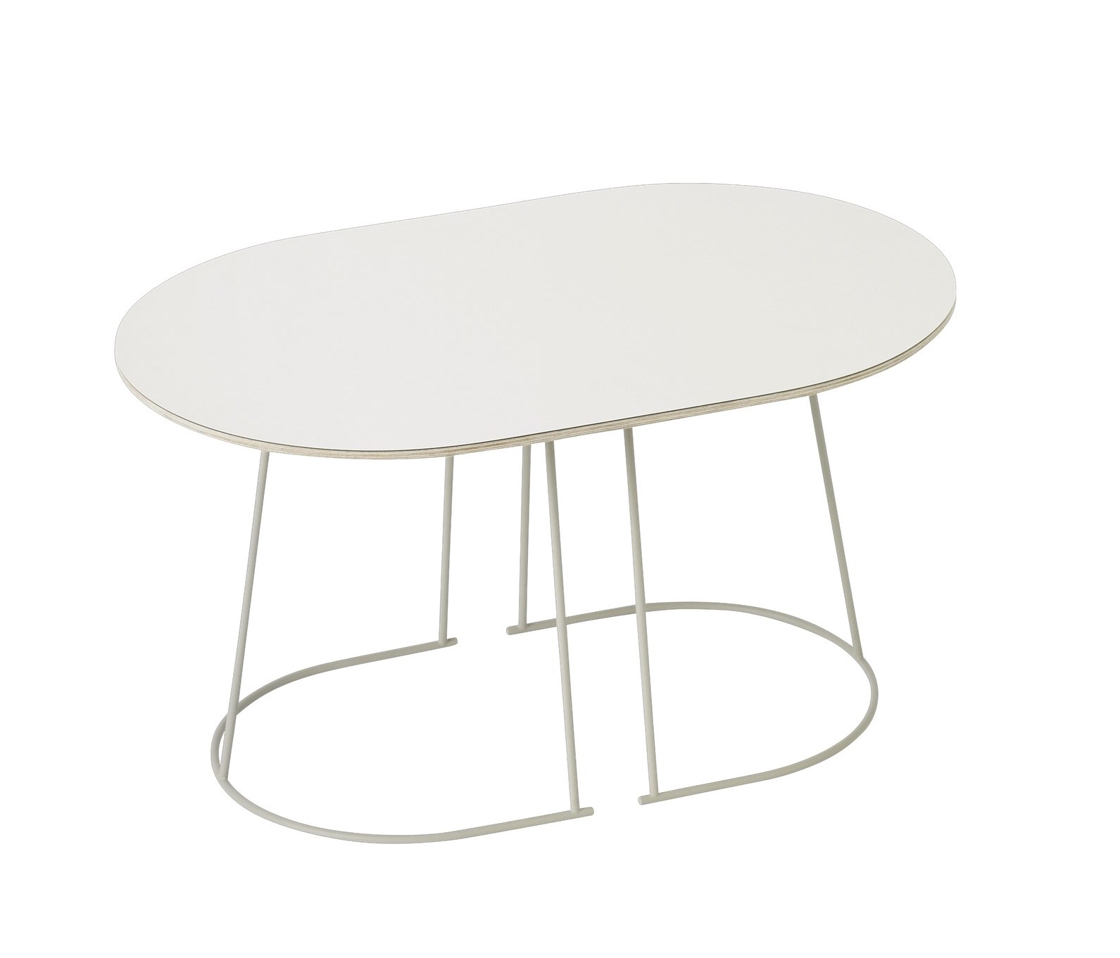 muuto airy coffetable small off white