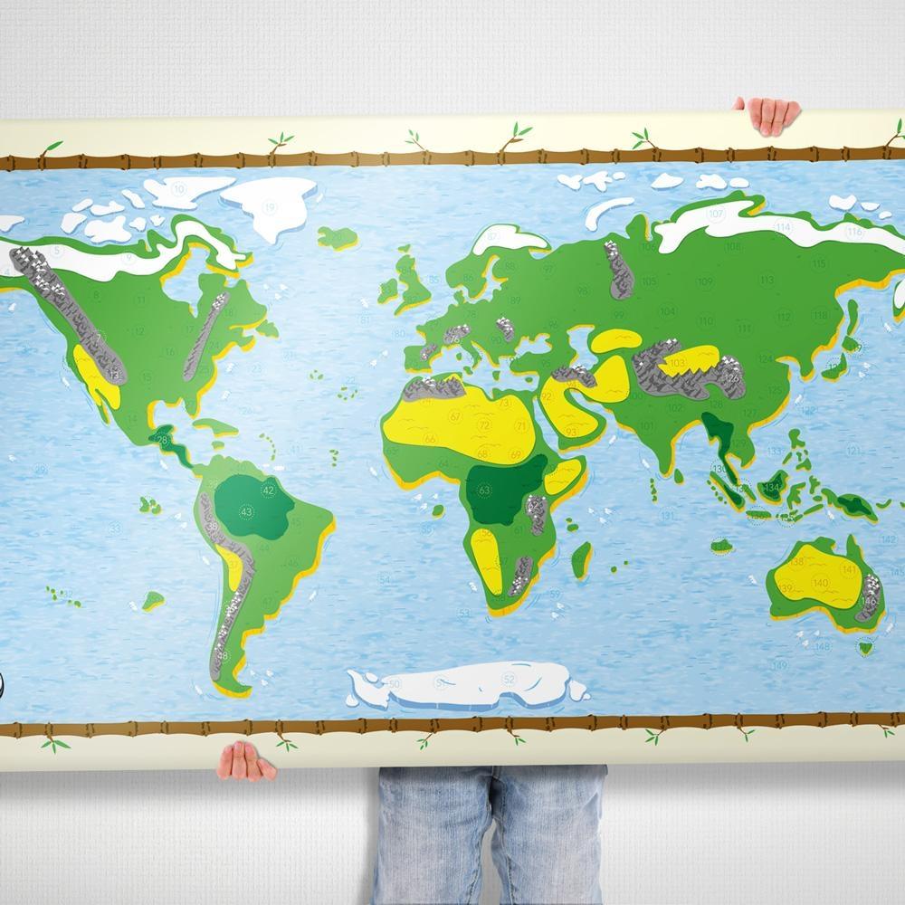Awesome Maps Interaktive Kinder Weltkarte