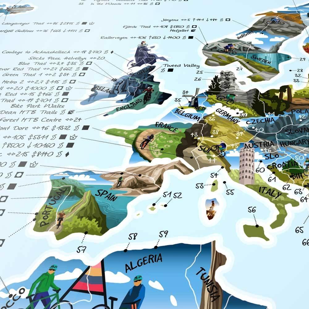 Awesome Maps Mountainbike Map